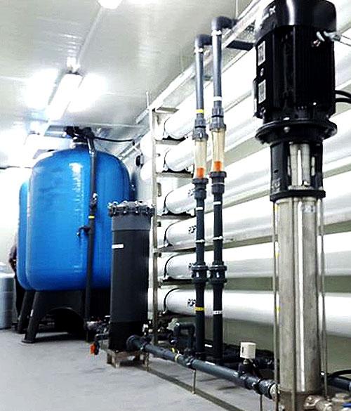 Brackish Water RO Water Treatment Plant Dubai