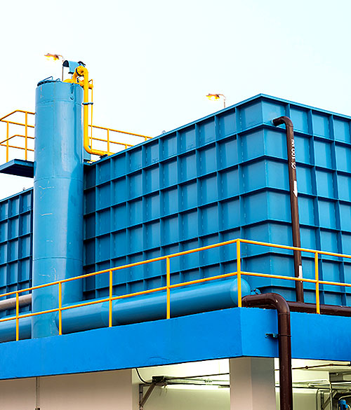 MBBR Wastewater Treatment System