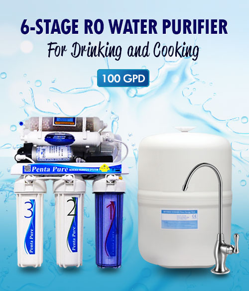 6 Stage RO drinking water purifier