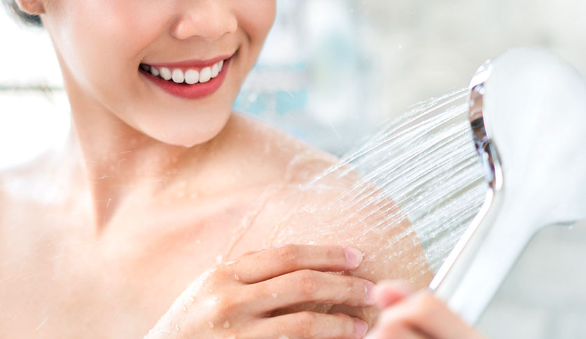 Skin Care with Soft Water