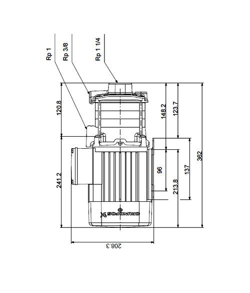 Grundfos CM5-4 Water Pumps