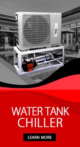 Water Tank Chiller System Dubai